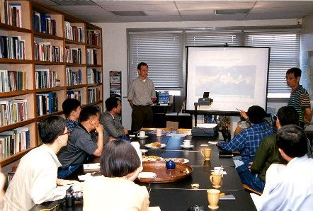 Photo: Dr. Ken Wilkening Speaks to ROK Delegation